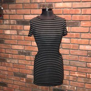 🖤☁️Rue 21 Striped T shirt Dress Short Sleeve